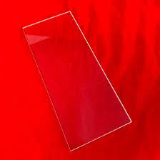 size clear glass square plates