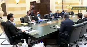 Iraqi Delegation Briefs PM Diab over Positive Atmosphere of Its ...