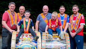Three generations of same family to march to the beat of the Lambeg -  BelfastTelegraph.co.uk