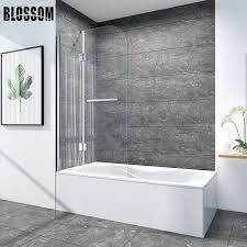 china modern glass shower wall bathtub
