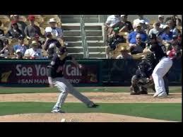 Adam Engel belts a solo home run - YouTube