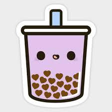 Bubble Boba Tea Drink Cute Kawaii Vinyl Decal Decor Wall Bumper Laptop Sticker Ebay