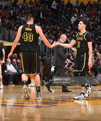 Ivica Zubac and Lonzo Ball | Lonzo ball, Los angeles lakers ...