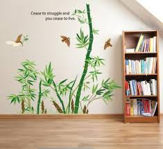 Bamboo Forest Wall Art Mural Decor Cease To Struggle And You Cease To Live Wall Quote Decal Poster Home Decoration Wallpaper Sticker Wall Quote Stickers Wall Quotes From Magicforwall 2 9 Dhgate Com