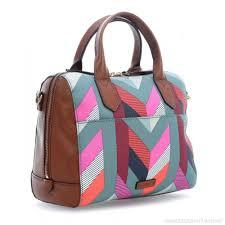fossil fiona handbag multicolour one