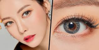 7 fl coloured contact lenses from