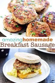 amazing homemade breakfast sausage