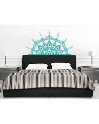 Amazing Deal On Leyla Half Mandala Wall Decal Bungalow Rose Color Turquoise
