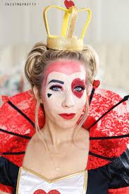 queen of hearts makeup hair tutorial