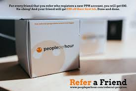 "PeoplePerHour (from 🏠) on Twitter: ""Our referral programme is now ..."