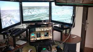 pilot says at home flight simulator not