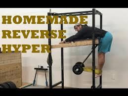 reverse hyper for garage or home gym