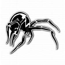 Large Spider Animals Nature Stickers Car Van Bumper Window Decal 5271 Black Archives Midweek Com