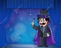 Vector: mickey mouse mago   Mago en el gran escenario — Vector de ...