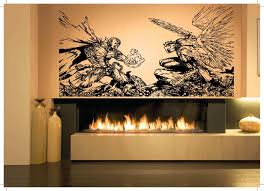 Wall Room Decor Art Vinyl Decal Sticker Mural Spawn Angel Fight Large Big As413 Walls Room Wall Decor Stickers Room Decor