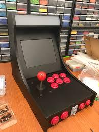 arcade machine 3d printed retropie