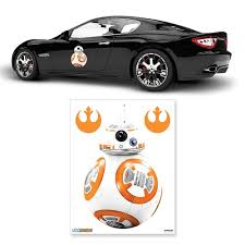 Star Wars The Force Awakens Bb 8 Single Car Decal