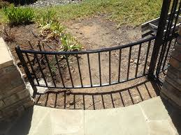 Curved Fence And Railing Design Curved Fencing Fence Designs
