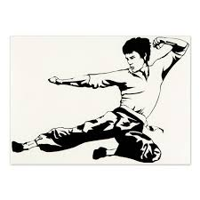 Bruce Lee Etd Chucks Sticker Custom Decal Stickers Car Stickers Vinyl Art