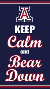 bear down thinking of my uofa wildcats