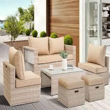 rattan wicker patio garden furniture