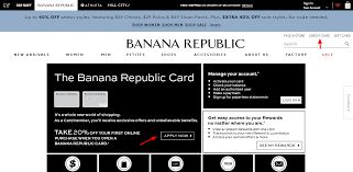 bananarepublic gap com pay the banana