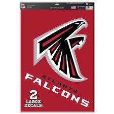 Atlanta Falcons Wincraft 11 X 17 Name Logo Multi Use Decal Sheet