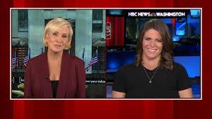MSNBC's Kasie Hunt on motherhood and career