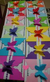 Bellas Invitaciones Con Tema De Mariposas Manualidades Escolares