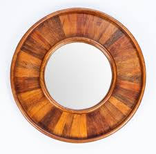 large round wall mirror décor