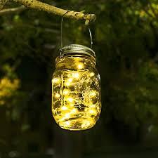 solar lights for garden mason jar