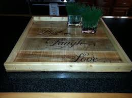 extra large ottoman tray wood pallet
