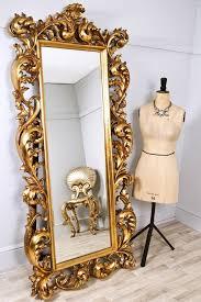 decorative gold rococo mirror