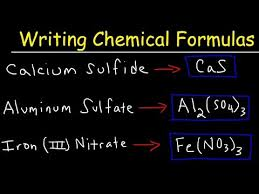 how to write ionic formulas with