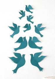 These Doves Will Add Something Special To Your Home Or A Special Touch To Celebrate A Special Occasio Wall Art Decor Living Room Bird Wall Art Bird Nursery Art