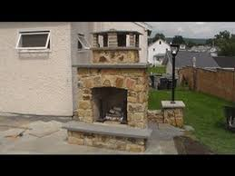 how i build a stone fireplace part 1of