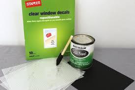 How To Make Diy Chalkboard Cookie Jar Labels Cheryl S Cookies And Brownies