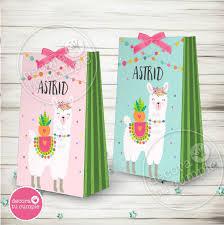 Kit Imprimible Llama Alpaca Cactus Invitacion Candybar Fiest 430 00 En Mercado Libre