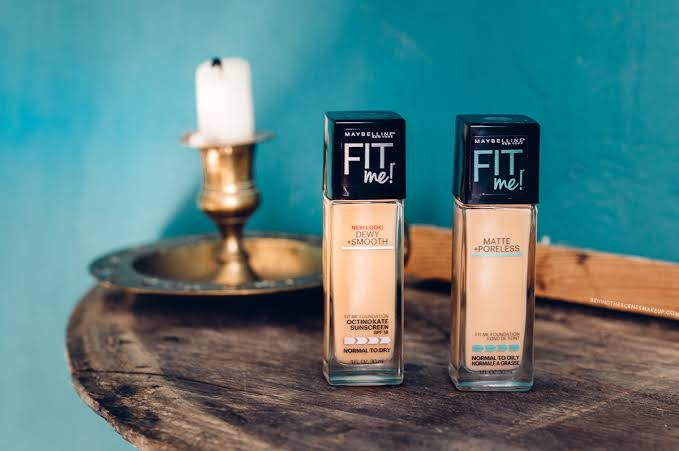 Image result for maybelline liquid foundation fit me review""