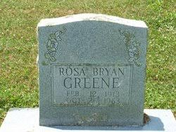 Rosa Adeline Bryan Greene (1913-1963) - Find A Grave Memorial