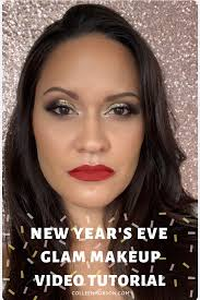 get new years makeup glam inspiration