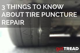 tire puncture repair