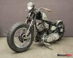 harley davidson panhead motorcycle