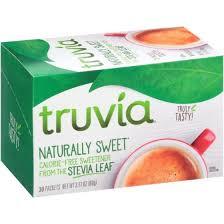 truvia sugar alternative 30ct