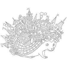 Gestileerde Cartoon Symbool Van Yin Yang Met Drie Gebalanceerde