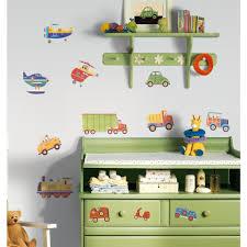 Cars Trucks 26 Wall Stickers Decor Vehicle Decals Kids Room Decor Nursery Planes Tractor Walmart Com Walmart Com