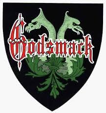 Amazon Com Godsmack Shield Logo With Dragons Sticker Decal Automotive