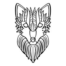 Wolf Kleurplaat Download Free Vectors Vector Bestanden