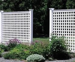 6 Ft Lattice Fencefrom Walpole Woodworkers Lattice Fence Vinyl Fence Patio Fence