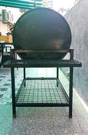 custom made 55 gallon drum bbq grill